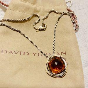 David Yurman Infinity necklance 14mm